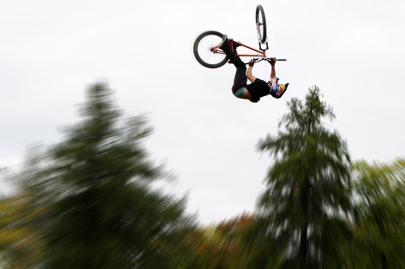 Mountain bike freestyle